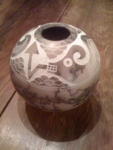 Acoma Artist Pot
